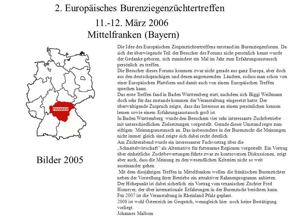 2.Europäisches Burenziegenzüchtertreffen 11.-12.