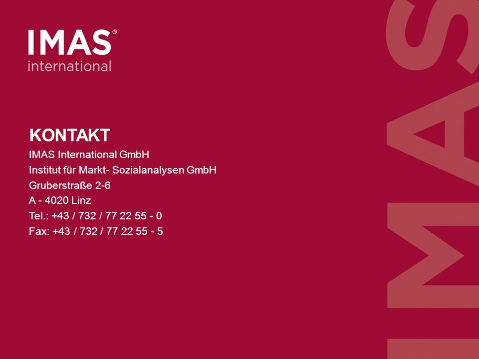 n=312, Befragung der Marketingverantwortlichen von oberösterreichischen Unternehmen mit Schwerpunkt Marketing/Unternehmensberater Oktober 2013, ArchivNr 213059 KONTAKT IMAS International GmbH Institut für Markt- Sozialanalysen GmbH Gruberstraße 2-6 A - 4020 Linz Tel.: +43 / 732 / 77 22 55 - 0 Fax: +43 / 732 / 77 22 55 - 5