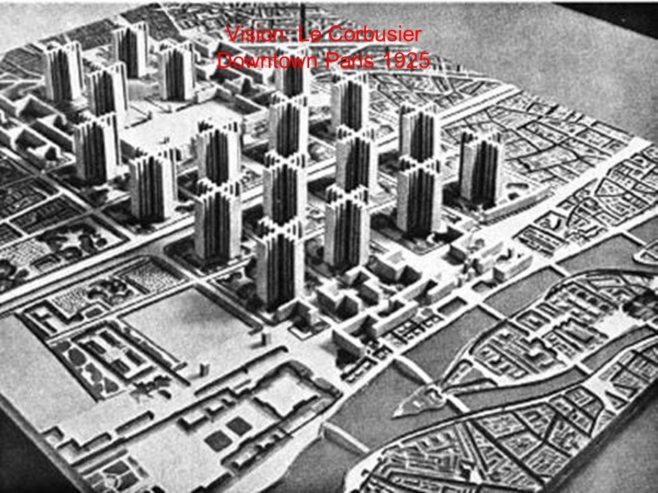 Realitäten Legende: öffentliches Schwimmbad, England (1934); Das Bauhaus (1928); Kölner Grüngürtel (1923); Die Frankfurter Küche (1930)