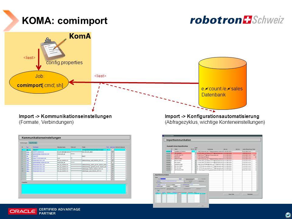 Import -> Kommunikationseinstellungen Read-only: Verhindert das Löschen der Dateien!.