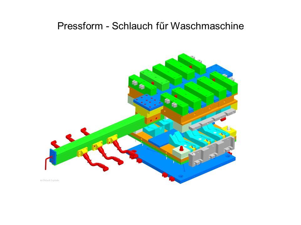 Pressform - Schlauch fűr Waschmaschine
