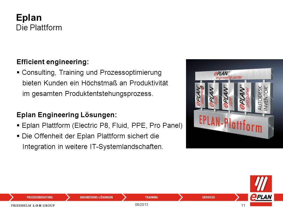 11 Efficient engineering: Consulting, Training und Prozessoptimierung bieten Kunden ein Höchstmaß an Produktivität im gesamten Produktentstehungsproze