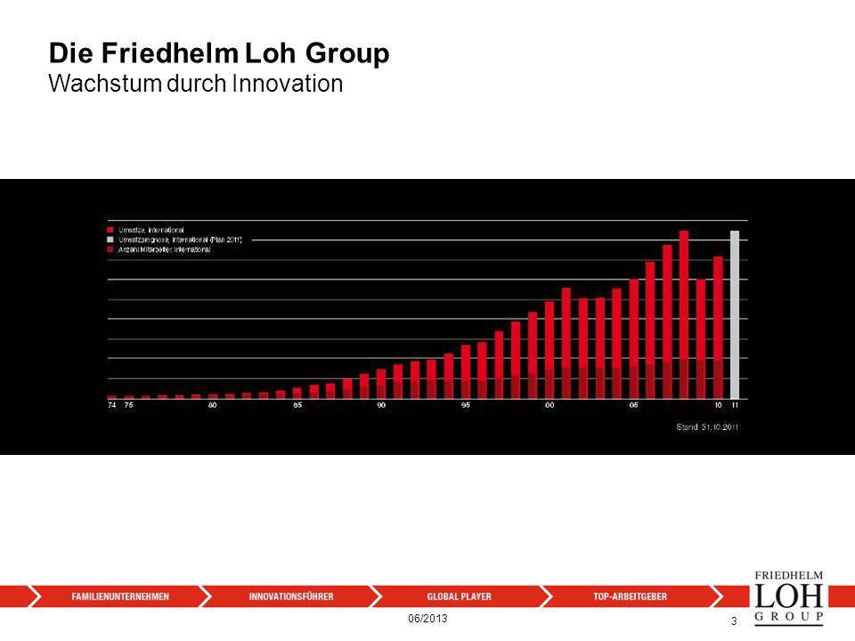 Die Friedhelm Loh Group Die Unternehmensstruktur 44 06/2013
