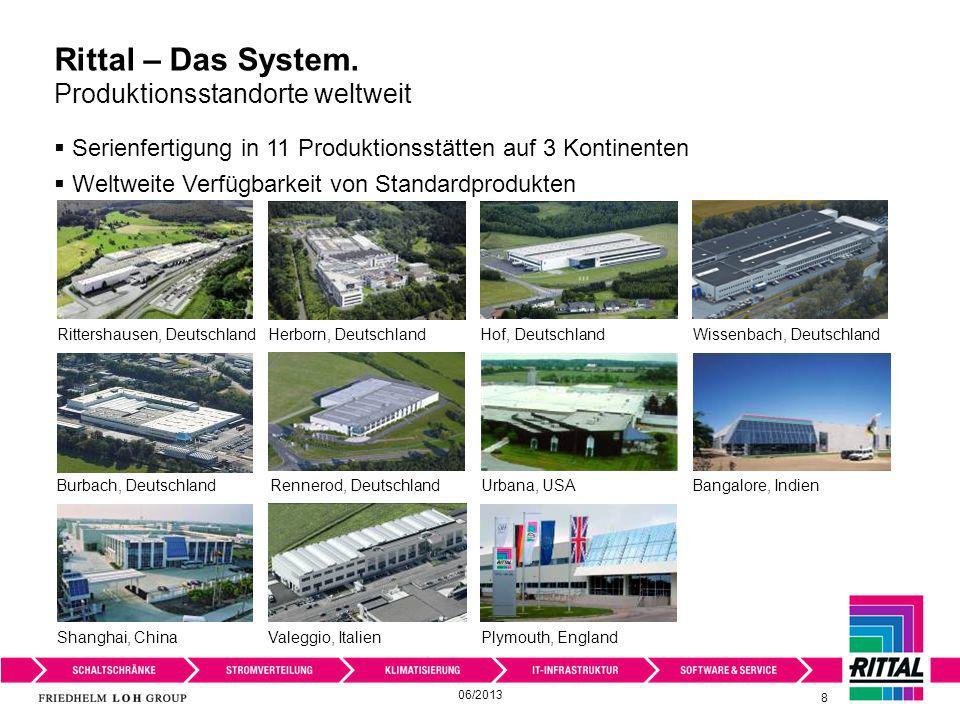Serienfertigung in 11 Produktionsstätten auf 3 Kontinenten Weltweite Verfügbarkeit von Standardprodukten Rittershausen, Deutschland Shanghai, ChinaPly