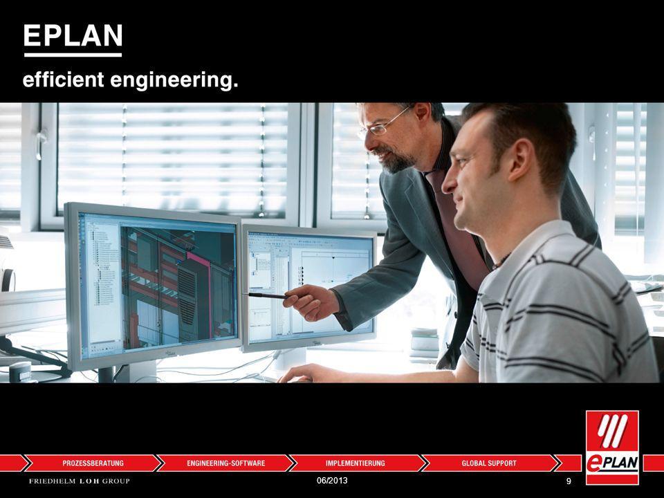 Eplan Allgemeine Informationen 10 Gründung: 1984 in Monheim Mitarbeiter: 600 Das Unternehmen: Optimierte Produktentstehungsprozesse – von Planung und Konstruktion bis Fertigung und Instandhaltung.