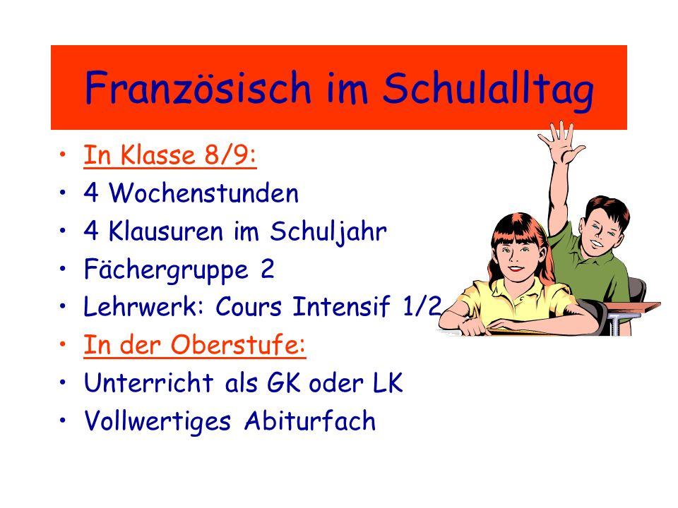 Deshalb: Änderung der Zulassungsbedingungen für das Abitur Bis zum Ende der Jahrgangsstufe 12 muss entweder eine zweite Fremdsprache oder ein zusätzli