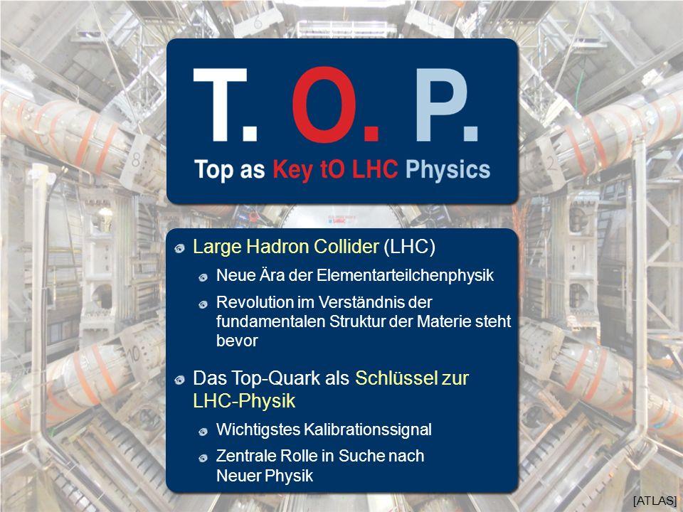 [ATLAS] Large Hadron Collider (LHC) Neue Ära der Elementarteilchenphysik Revolution im Verständnis der fundamentalen Struktur der Materie steht bevor