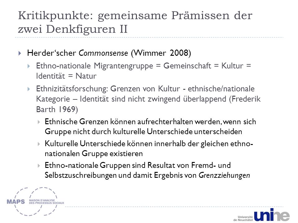 Grenzziehungsparadigma Gruppen (z.B.
