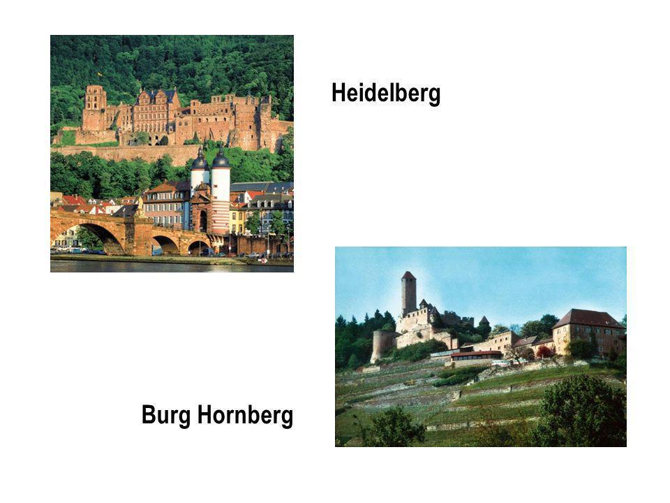 Heidelberg Burg Hornberg