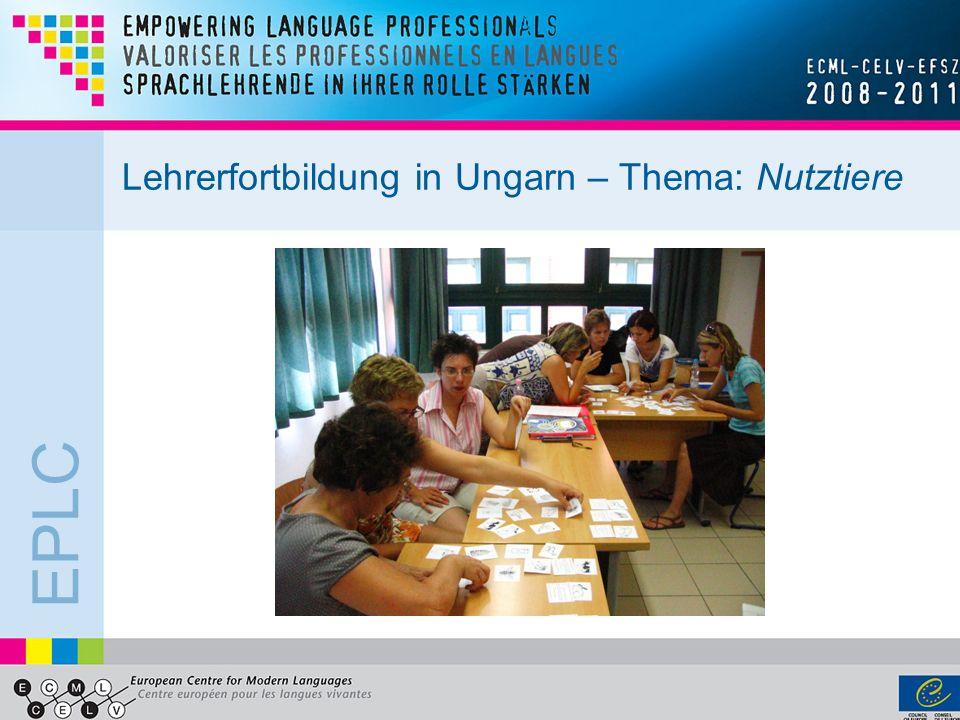 EPLC Lehrerfortbildung in Ungarn – Thema: Nutztiere