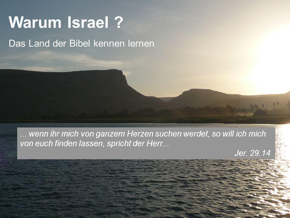 Warum Israel ?...