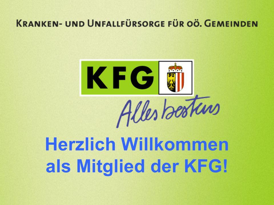 I.Was ist die KFG.II.Warum sind Sie bei der KFG. III.Welche Leistungen bieten wir Ihnen.