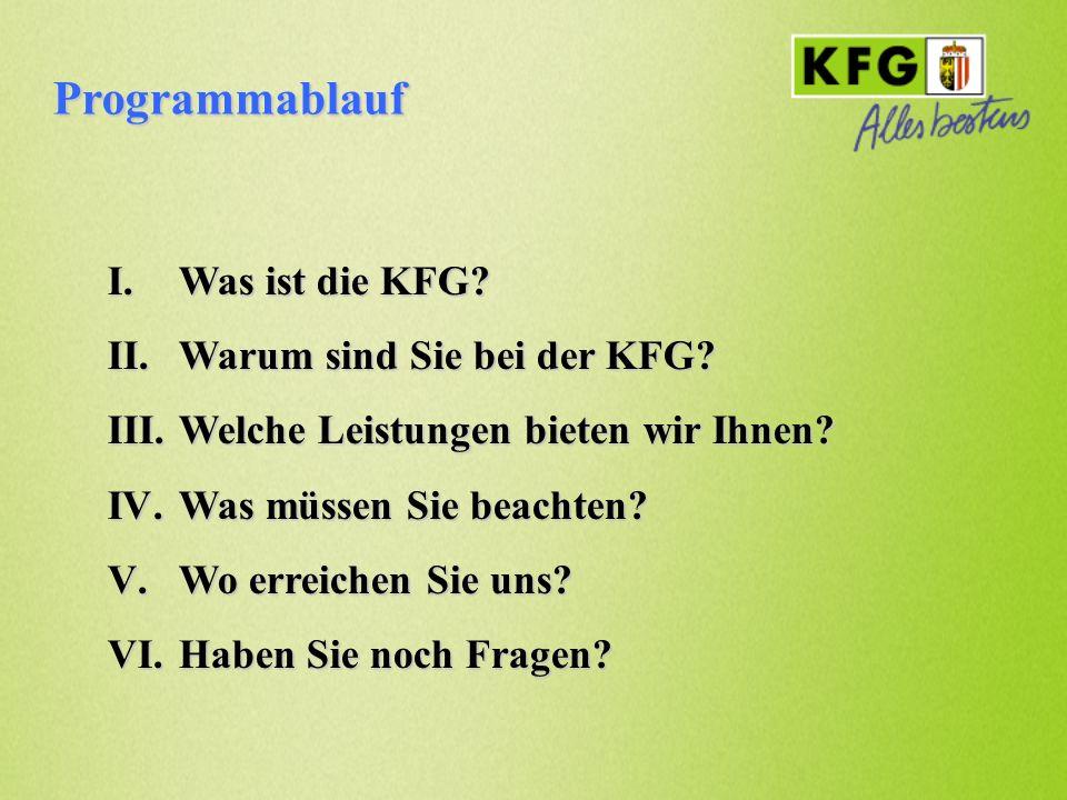 Was ist die KFG.