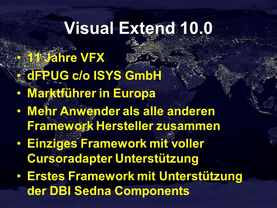Visual Extend 10.0 VFX 10.0 Build 1030 auf der Konferenz-CD 4 Beispielanwendungen 20 Stunden Videos