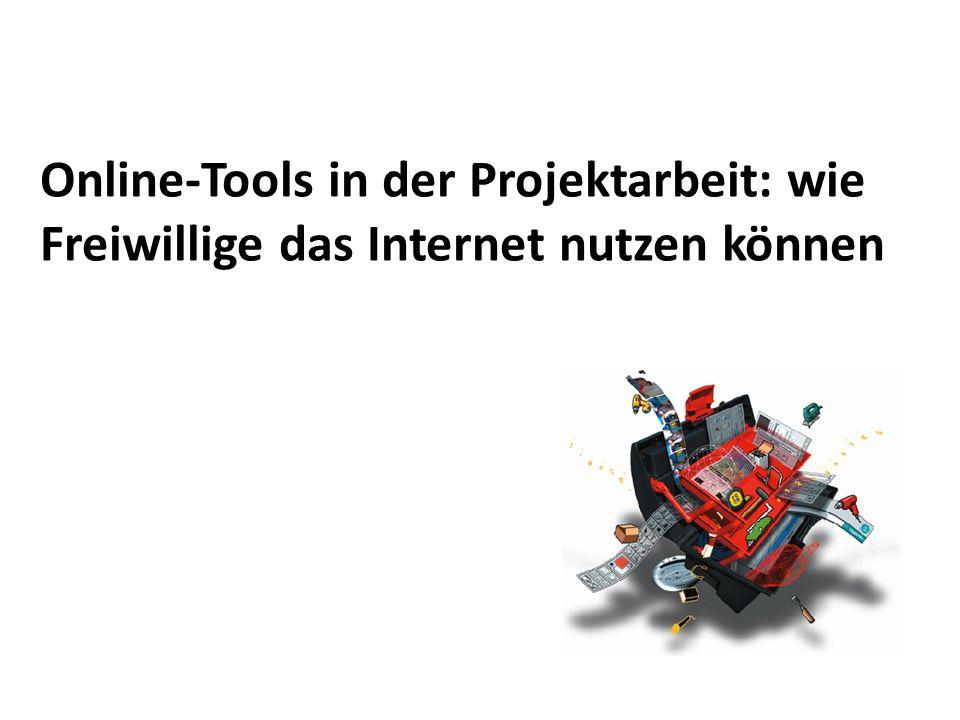 22 Das Projekt online… Werkzeuge intern geduldig verbreiten.