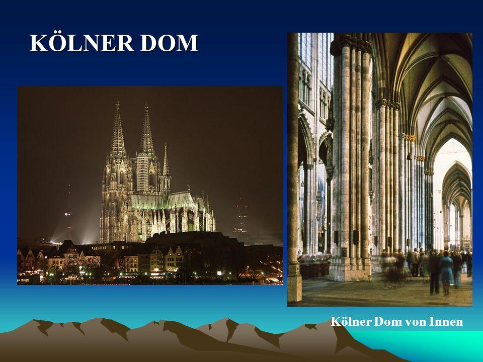 KÖLNER KÖLNER DOM Kölner Dom von Innen