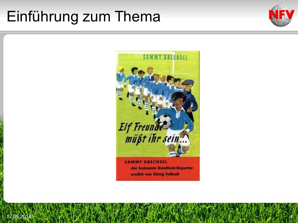 Einführung zum Thema 17.05.20144
