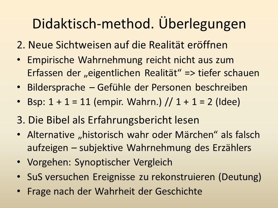 Didaktisch-method.Überlegungen 2.
