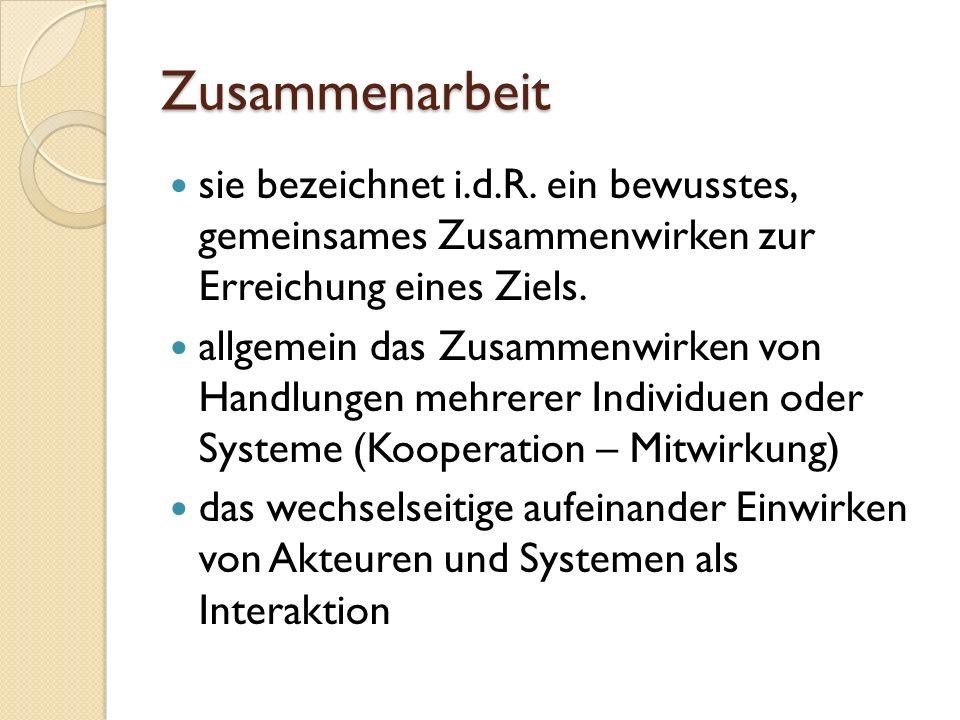 Kooperation (lat.