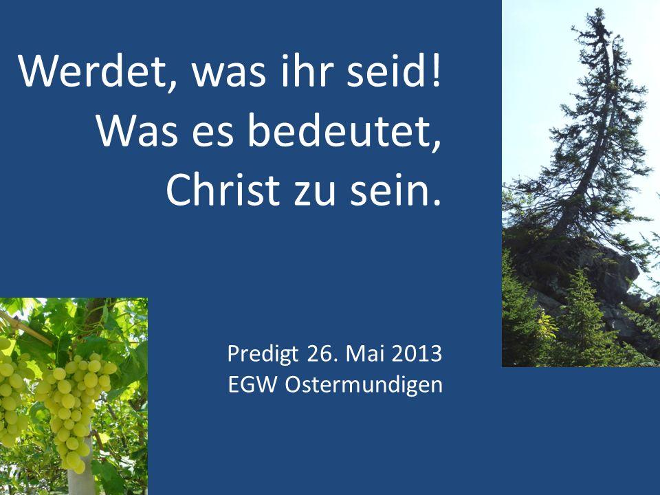 Ihr seid… Psalm 1 GEPFLANZT am Wasser Nicht Wildwuchs Akt eines Fachmannes Für Baum: Passiv erdulden