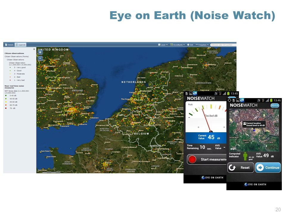 Eye on Earth (Noise Watch) 20