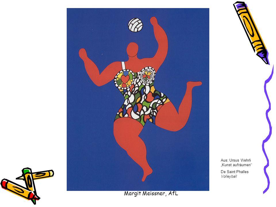 Aus: Ursus Wehrli Kunst aufräumen De Saint Phalles Volleyball