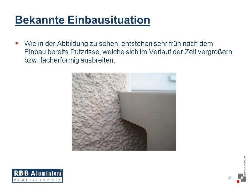 14 / 20 RAG² R BB A luminium G leitendstück Die WDVS - Lösung!