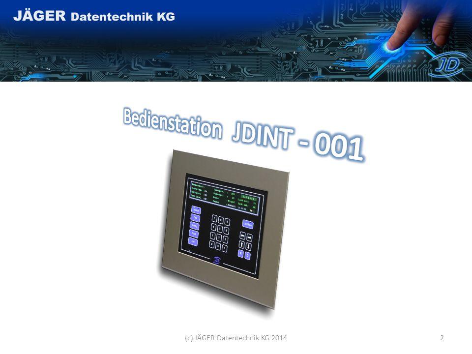 (c) JÄGER Datentechnik KG 20141