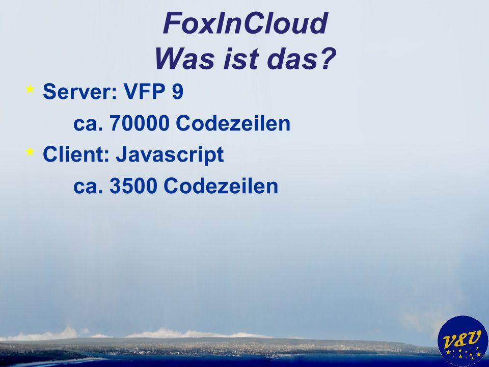FoxInCloud Was ist das.* Live Demo.