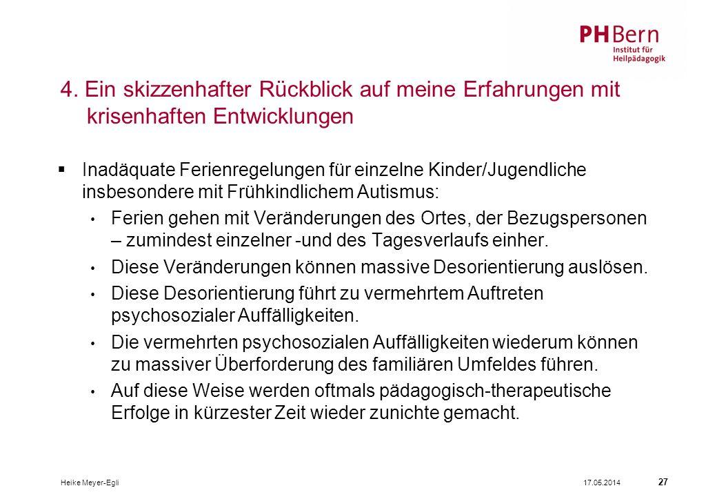 17.05.2014Heike Meyer-Egli 27 4.