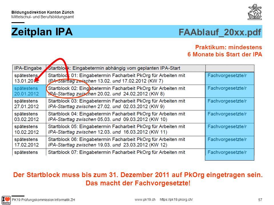 PK19 Prüfungskommission Informatik ZH www.pk19.ch https://pk19.pkorg.ch/ Bildungsdirektion Kanton Zürich Mittelschul- und Berufsbildungsamt 58 2.