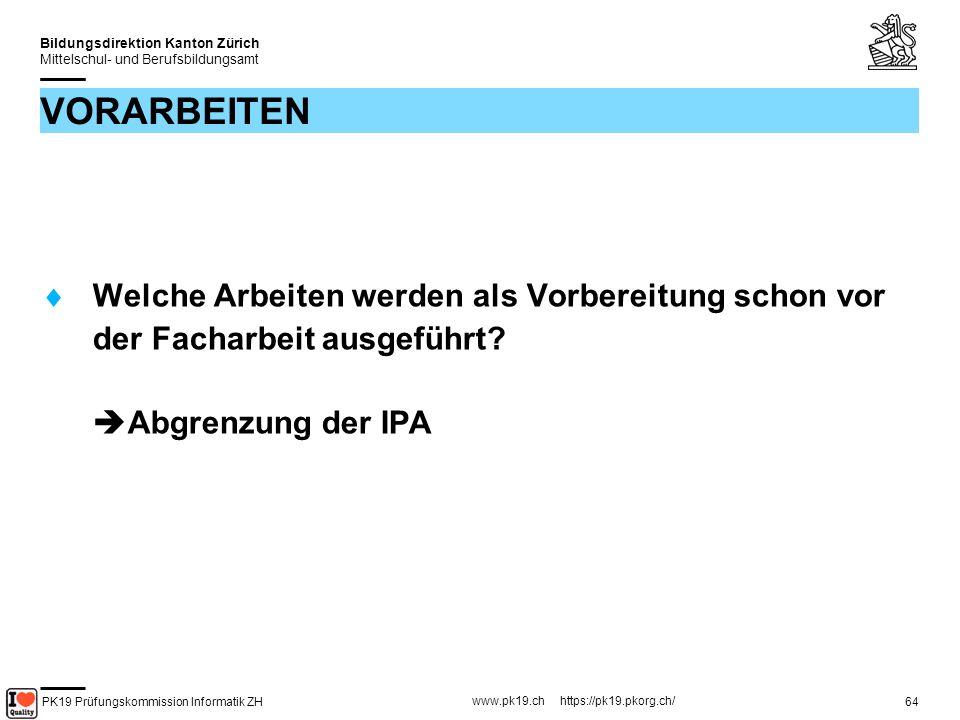 PK19 Prüfungskommission Informatik ZH www.pk19.ch https://pk19.pkorg.ch/ Bildungsdirektion Kanton Zürich Mittelschul- und Berufsbildungsamt 65 NEUE LEHRINHALTE Welche Lerninhalte sind für den Kandidaten voraussichtlich neu und müssen erarbeitet werden.