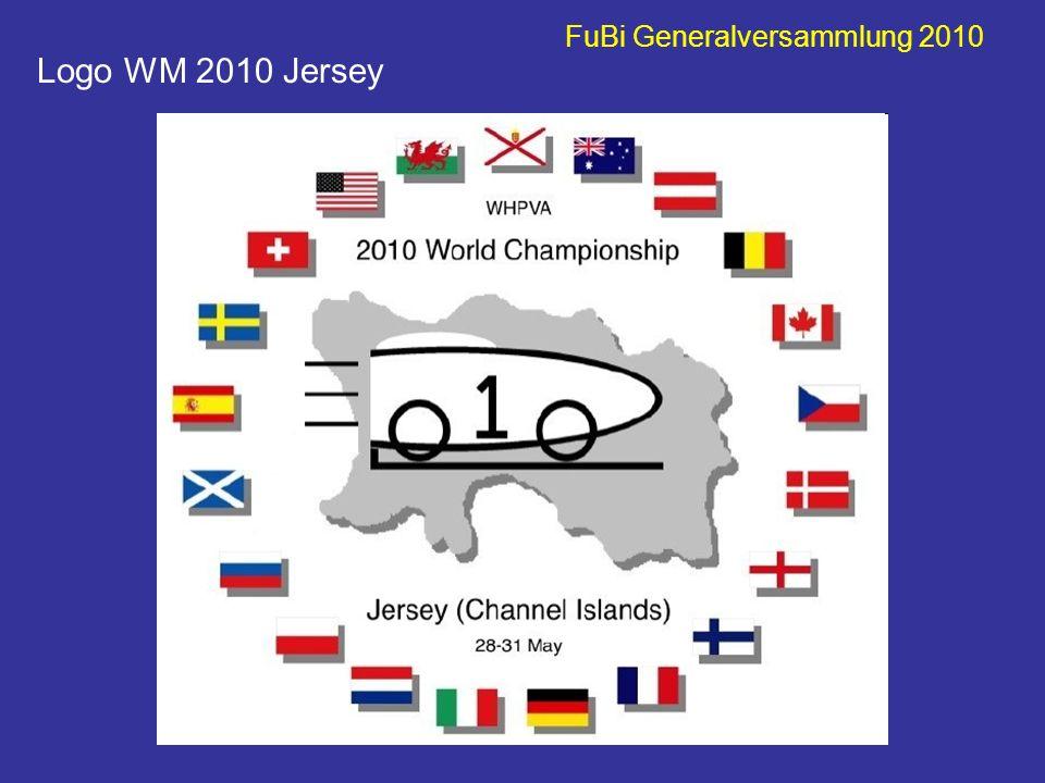 FuBi Generalversammlung 2010 Logo WM 2010 Jersey