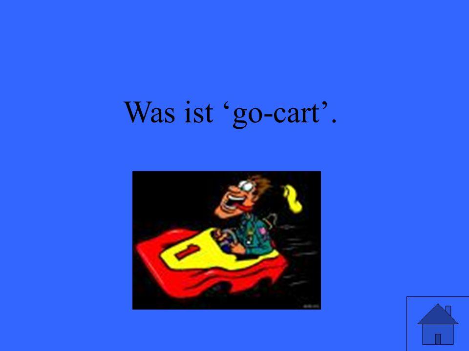 Was ist go-cart.
