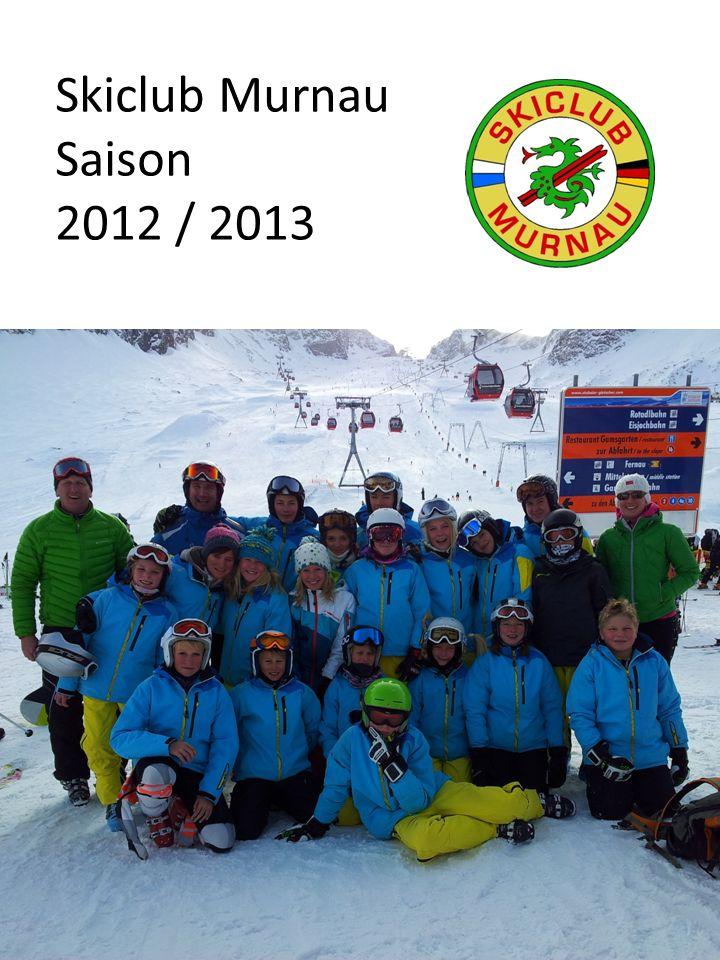 Sehr geehrte Sponsoren, wieder ist eine erfolgreiche Skisaison 2012/ 2013 im Skiclub Murnau vorübergegangen.