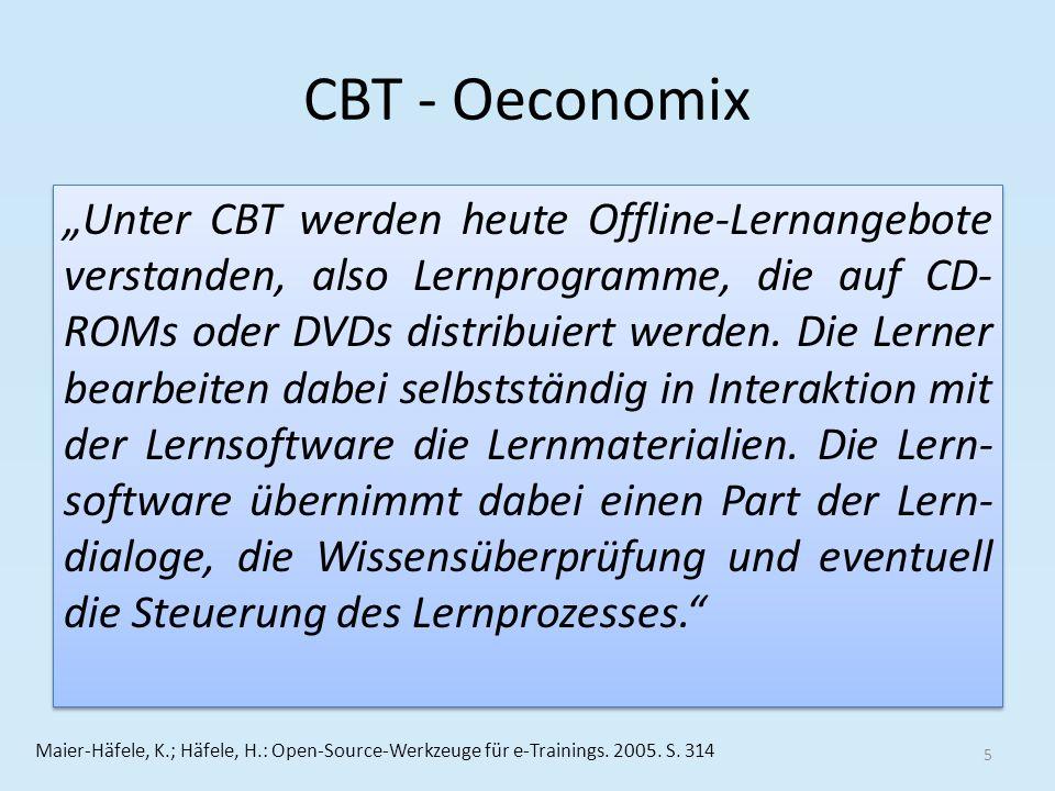 Blended Learning – Oeconomix Blended-Learning bedeutet nach Euler/Seufert 16 Euler, D.; Seufert, S.: Learning Design: Gestaltung eLearning-gestützter Lernumgebungen in Hochschulen und Unternehmen.
