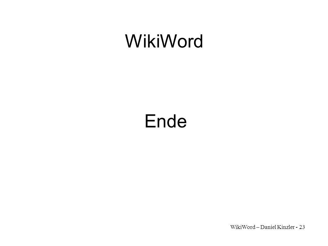 WikiWord – Daniel Kinzler - 23 WikiWord Ende