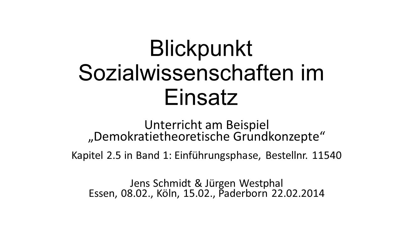 Podiumsdiskussion: Sollte es in der Bundesrepublik Deutschland mehr direkte Demokratie geben.