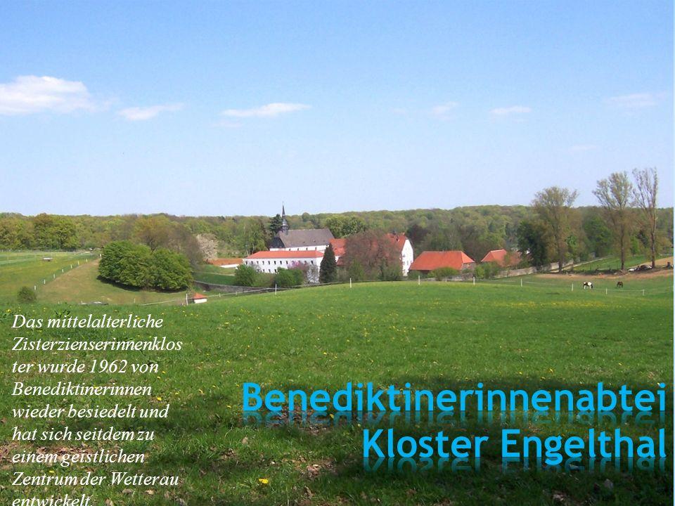 Das mittelalterliche Zisterzienserinnenklos ter wurde 1962 von Benediktinerinnen wieder besiedelt und hat sich seitdem zu einem geistlichen Zentrum de