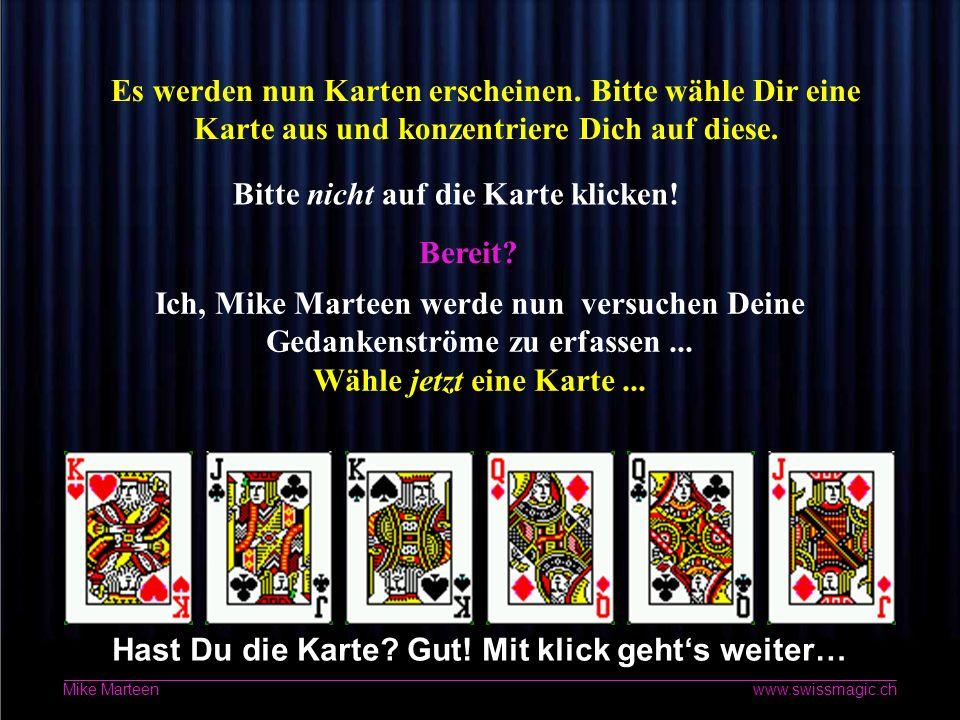 2 www.swissmagic.ch Mike Marteen Das ist kein Spiel.