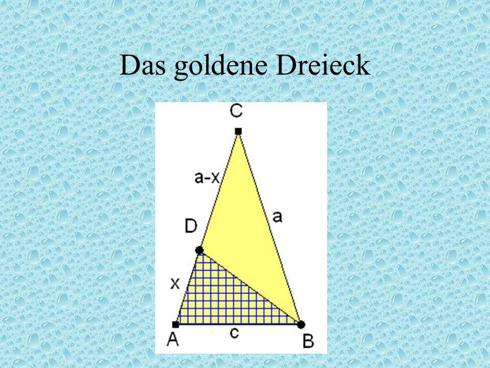 Das goldene Dreieck