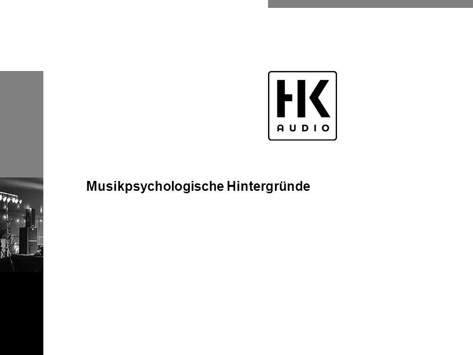 Musikpsychologische Hintergründe