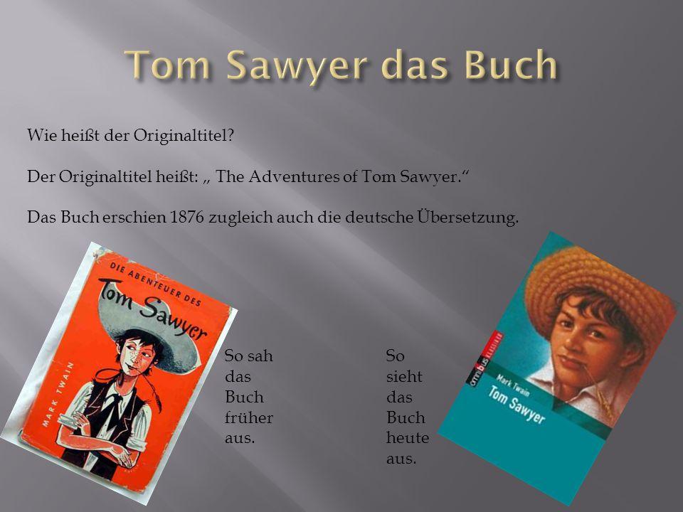 Wie heißt der Originaltitel.Der Originaltitel heißt: The Adventures of Tom Sawyer.