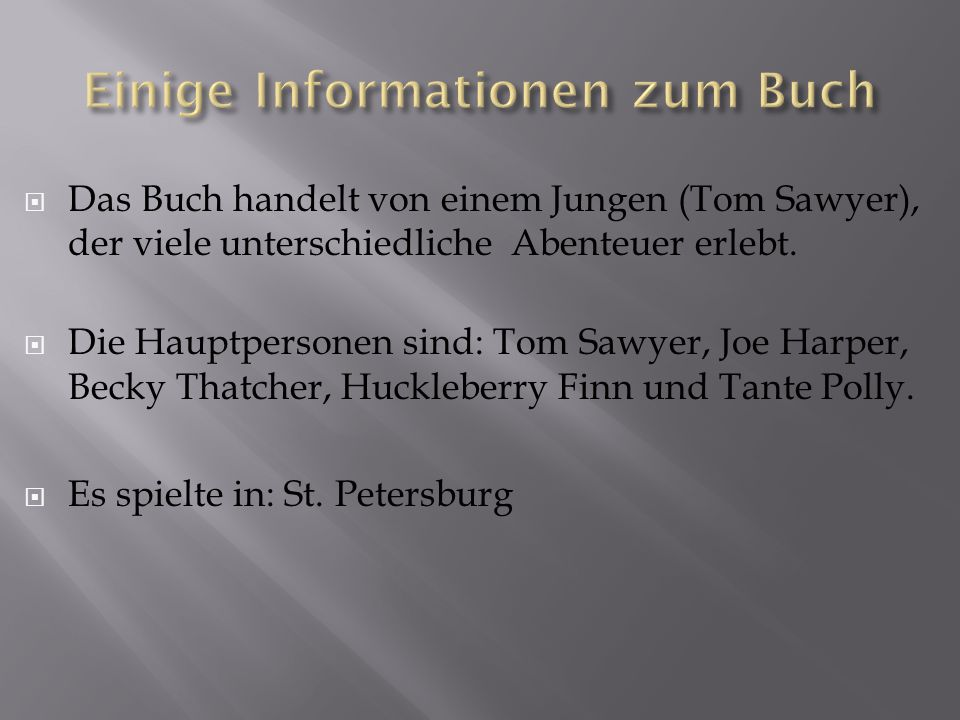 Tom Sawyer, Joe Harper und Huckleberry Finn wollten Piraten werden.