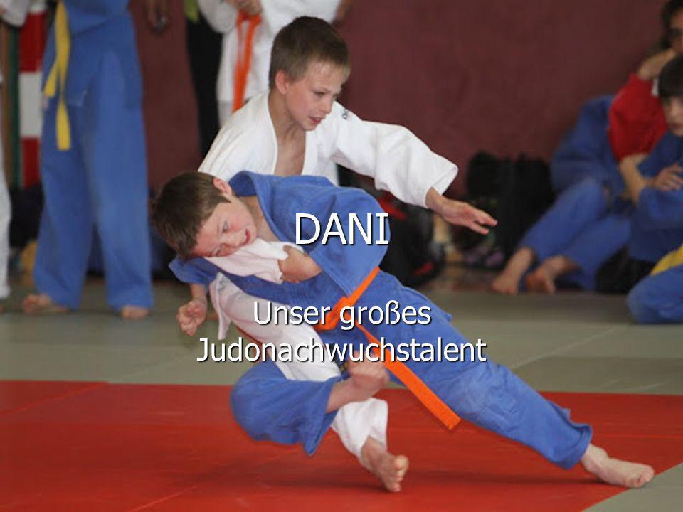 DANI Unser großes Judonachwuchstalent