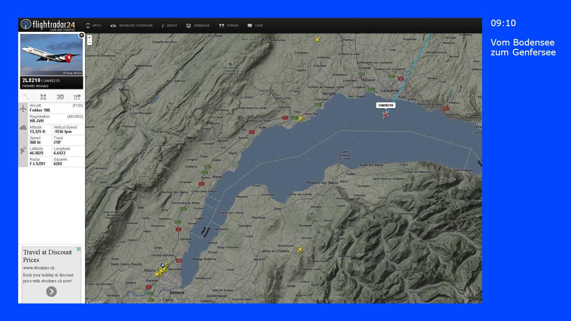 09:10 Vom Bodensee zum Genfersee