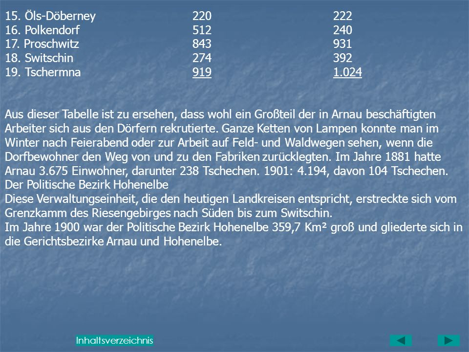 Einwohnerentwicklung Die höchste Einwohnerzahl von 4502 Seelen hatte Arnau im Jahre 1930. Danach setzte die Weltwirtschaftskrise ein, die eine Abwande