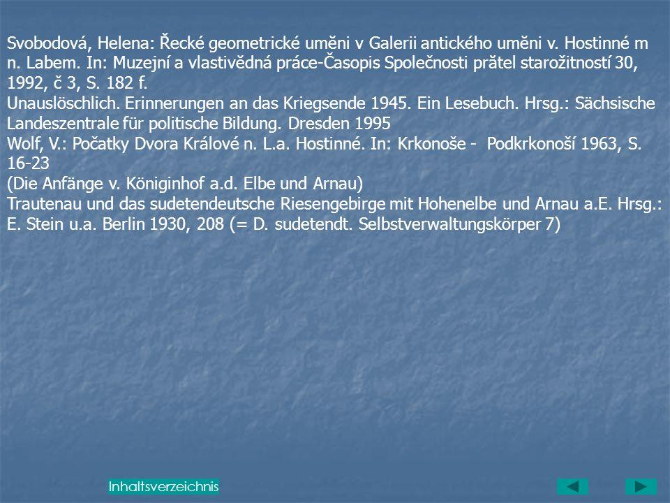Kuhn, Franz Xaver: Die Rekatholisierung im Arnauischen unter dem Dechant Kaspar Lang (1638-1652). In: Jahrbuch des Deutschen Riesengebirgsvereins 14,