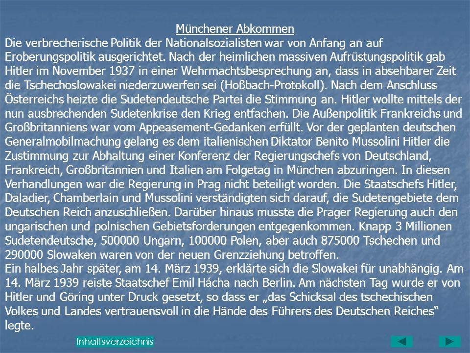II. Geschichte der Tschechoslowakei von 1938 - 1948 Die Gründung der Tschechoslowakischen Republik Die Staatsgründung der Tschechoslowakei am 28. Okto