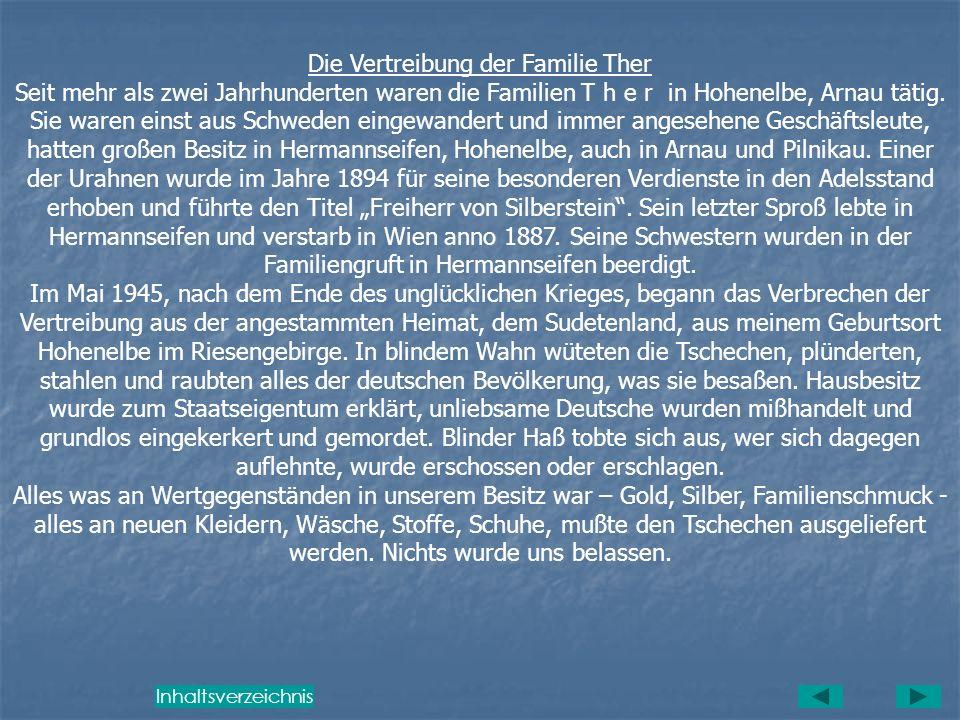 Zeugenschaft über diese Unmenschlichkeiten von den Tschechen wird der ganze Transport, der Arnau am 19. Juni 1945 verließ, ablegen. St. Johann, den 24